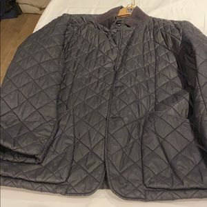 Men's quilted two pocket jacket